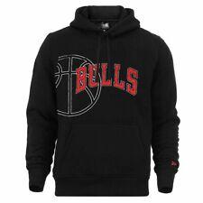 Sudadera capucha Nba Chicago Bulls Graphic Basketball New Era Negro Hombre