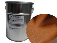 1 Litro 1k Pintura Resina sintética Chocolate Marrón Metálico lackpoint TUNING