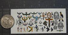 1/18 Scale Custom Tattoos: Egyptian Designs - Waterslide Decals