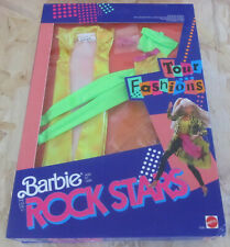 BARBIE ROCK STARS ROCKERS 3390 Mattel ABITO DRESS OUTFIT Tour Fashions NEW RARE