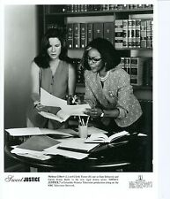 MELISSA GILBERT CICELY TYSON SWEET JUSTICE ORIGINAL 1996 NBC TV PHOTO
