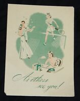 Vintage Mum Deodorant Ad Pamphlet Brochure instructions Bristol-Meyers