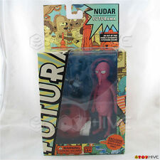 Futurama Nudar Toynami 2008 Series 4 action figure with Santa robot part