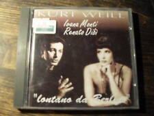 """IVANA MONTI RENATO DIBI """" kurt weill """"      CD"""