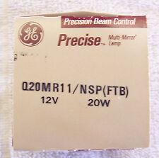 GE PRECISE MUTI MIRROR BULB Q20MR11/NSP ( FTB) 12V. 20W NEW IN BOX