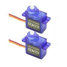 2x Genuine HEXTRONIK HXT900 9 G/1.6 kg/.12 S Micro Servos UK même jour envoi