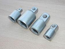 """Adapter für Ratschen- Satz  4tlg. Steck-Nuss 1/4"""" 3/8"""" 1/2""""  Steckschlüssel"""