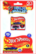 World's Smallest Hot Wheels - 1990 Purple PASSION Miniature Micro Car S2 ❤️NEW❤️