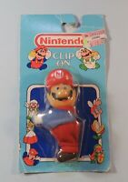 1989 Nintendo Super Mario Bros. Clip On Toy by ACE Novelty New Still Sealed RARE