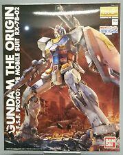 Gundam Origin Prototype Mobile suit RX-78-02 Master Grade MG 1/100 Bandai ***