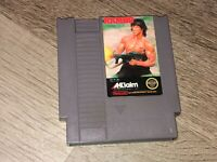 Rambo Nintendo Nes Cleaned & Tested Authentic