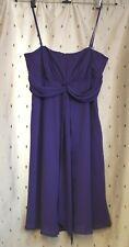 Debut (Debenhams) ~ Strappy Purple Evening / Prom / Party Dress ~ Size16