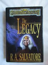 Vintage~Forgotten Realms~Legacy by RA Salvatore~Book 1~HC w/dj~1st Ed/pr~LBDWK