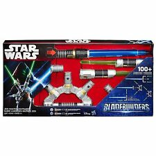 Star Wars Bladebuilders Jedi Master Lightsaber Ages 4+ Light Saber Hasbro Boys