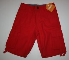 New Gymboree Red Cargo Shorts 6 year NWT Boys Star Spangled Days Adustable