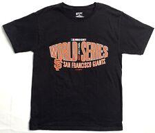 World Series 2014 San Francisco Giants Black Gear T-shirt Size M