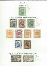 BRUNEI - GOOD EARLY MM COLLECTION ON ALBUM PAGE