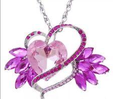 Heart Rhinestone pendant