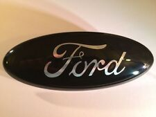 "2011-2016 Ford super duty 13"" GRILLE EMBLEM, "" GLOSS BLACK,CHROME LOGO DEISEL"