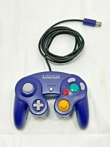 Indigo Purple Nintendo Original GameCube OEM Wired Controller DOL-003 TESTED Wii