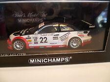 BMW M3 GTR 24 HEURES DE DAYTONA N° 22 de 2004 : MINICHAMPS ~  NEUF
