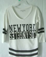 Almost Famous Womens white Shirt size Small