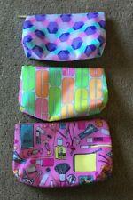 Clinique Colorful Makeup Bags - Lot of 3