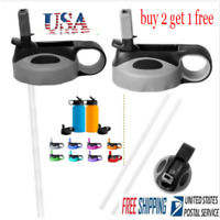 For HYDROFLASK Straw Flip Lid Cap 12 16 18 20 32 40 oz Wide Mouth Water Bottle