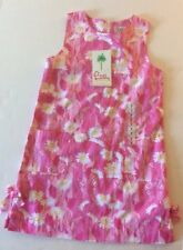 Lilly Pulitzer Little Lilly Shift Dress Socialite Pink Daisy Butterfly New 7