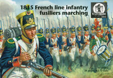 Soldatini 1/72 1815 French Line Infantry Fusiliers Marching -  WATERLOO1815 061