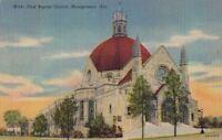 Postcard First Baptist Church Montgomery AL