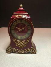Vintage Jaeger PETITE Neuchateloise Swiss Clock  with music box alarm
