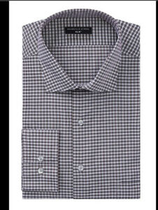 Shaquille O'Neal Shaq Dress Shirt Sz 3XL 19/36-37 Mens, Big Fit, Cooling Stretch