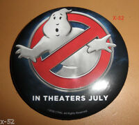 GHOSTBUSTERS 2016 movie LOGO promo PIN toy BUTTON answer the call