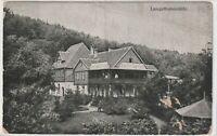 Ansichtskarte Bürgel - Sommerfrische Langethalsmühle - 1926 - schwarz/weiß