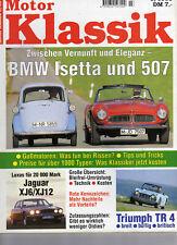 Motor Klassik  3 / 1995, BMW Isetta & 507, Fiat 850
