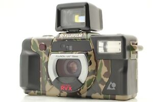 FUJIFILM FUJI EPiON RVX APS Camouflage Camera from JAPAN [Near Mint]