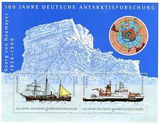 Block Deutschland Bund Bl. Nr: 57 ** 2001 100 Jahre Antarktisforschung BR730