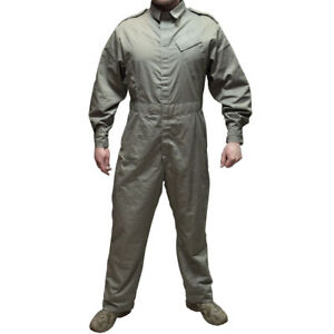 British Army Overalls Mechanic Boiler Suit Coverall Military STONE NEW