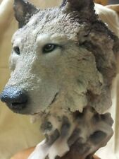 "Mill Creek Studios - 71170 ""Misfit"" Wolf Sculpture - Randall Reading Limited Ed"