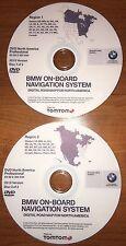 2015 BMW North America Navigation DVD Map Update - PROFESSIONAL SET iDrive