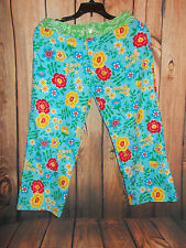 WOMENS AGUA DOCE  Floral  Swimsuit Cover Up Pants Sz SMALL NWT