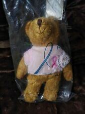 "Avon Breast Cancer Crusade Awareness Pink Ribbon Plush 7"" Teddy Bear 2001"