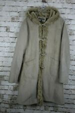 Ben Sherman Suede Leather Coat Size UK16 No.W474 20/2