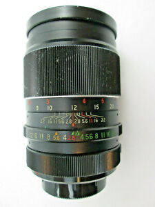 Vivitar Auto Telephoto Lens 135 mm 1:2.8 Screw Mount with 42 mm Threads - Used
