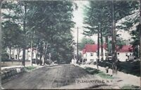 Pleasantville, NY 1911 Postcard: Bedford Road - New York