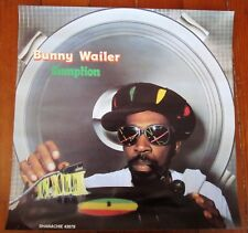 "Reggae-Bunny Wailer – Gumption-1991 Poster 15"" x 15"" Shanachie M-"