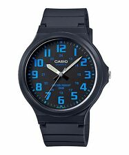 MW-240-2B Blue Casio Watches Unisex Water Resist Analog Resin Band Brand-New