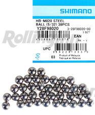 Shimano Saint Hb-M820 38pcs 5/32 Inch Steel Ball Bearings Y28F98020 New
