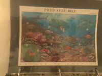 Nature of America Pacific Coral Reef 37 Cent Stamp Sheet of 10